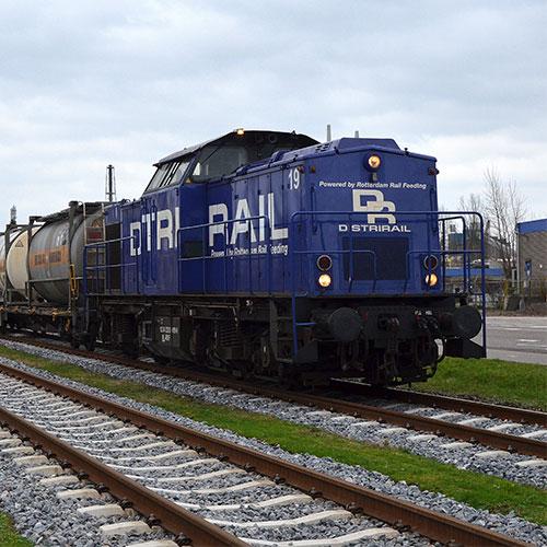 RRF19 Distrirail Chris Westerduin Blomsma Print & Sign Treinbestickering locomotief