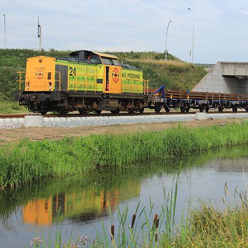 RRF24 Sicco Dierdorp Blomsma Print & Sign Treinbestickering locomotief