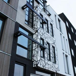 NDSM-werf Amsterdam gevel bestickering Blomsma Print & Sign