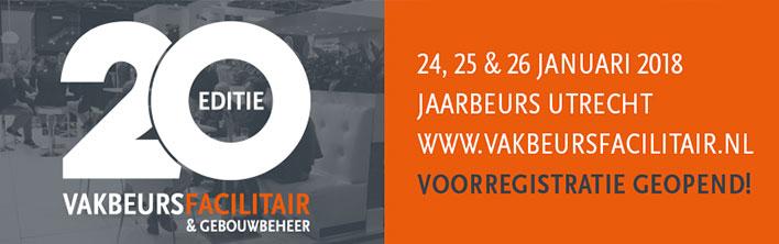 Vakbeurs Facilitair & Gebouwbeheer Jaarbeurs Utrecht Blomsma Print & Sign interieurdecoratie