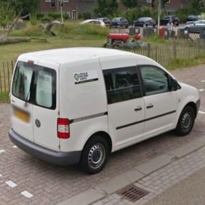 Blomsma toverd PLUS auto om van wit naar groen