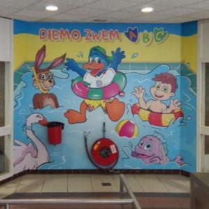 Zwembad Diemen gerestyled door Gemeente Diemen met mascotte Diemo de Eend