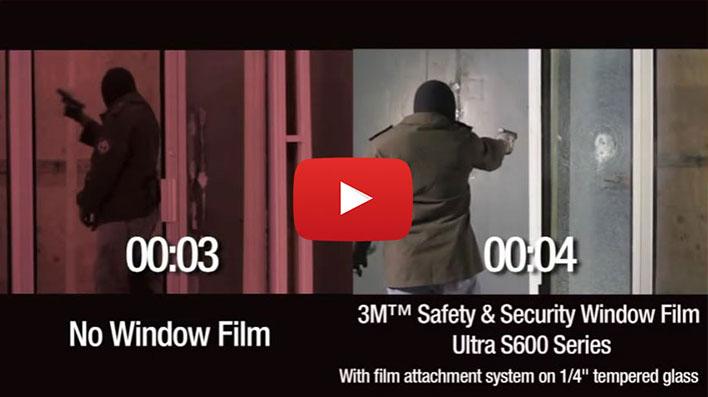 Veiligheidsfolies doorvalbeveiliging Blomsma Print & Sign