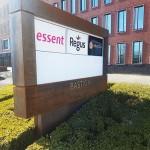 Blomsma Print & Sign Cortenstaal reclame zuil Den Bosch Bastion gebouw