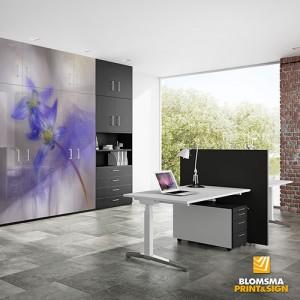 Blomsma Print & Sign muurvisuals Andy Luberti sfeer werkruimte
