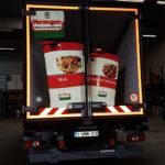 Vrachtwagen bestickering Verstegen België 3D door Blomsma Print & Sign