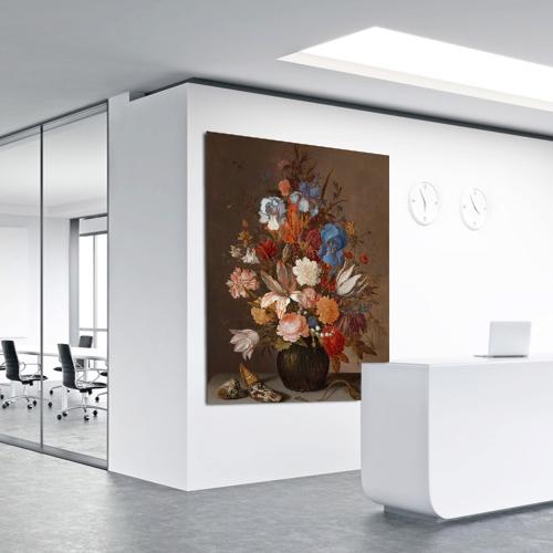 prints op de muur grootformaat Blomsma Print & Sign