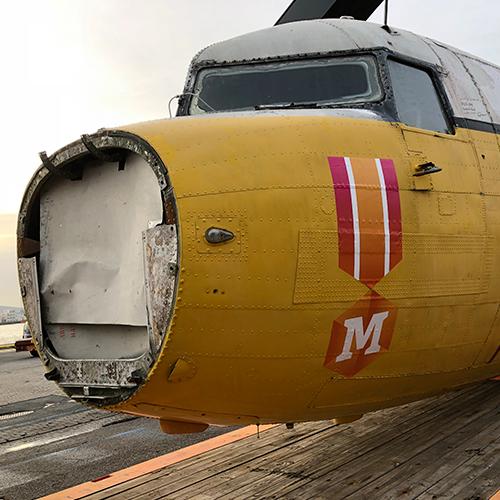 Bestickering Dakota DC-3 Madurodam Blomsma Print & Sign