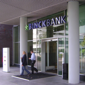 Lichtreclame Binck Bank Blomsma Print & Sign restyling