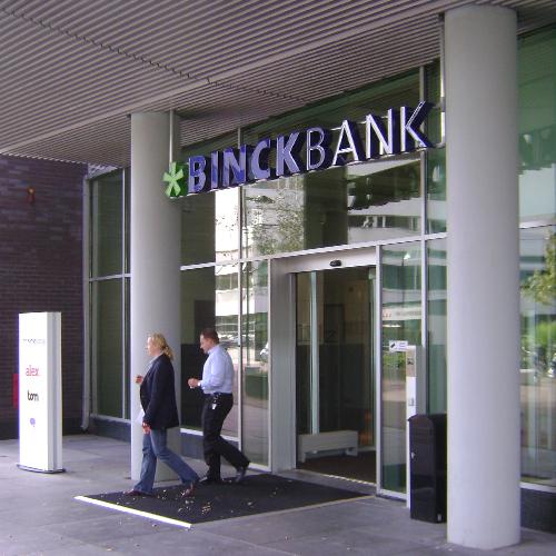 Lichtreclame Binck Bank Blomsma Print & Sign restyling