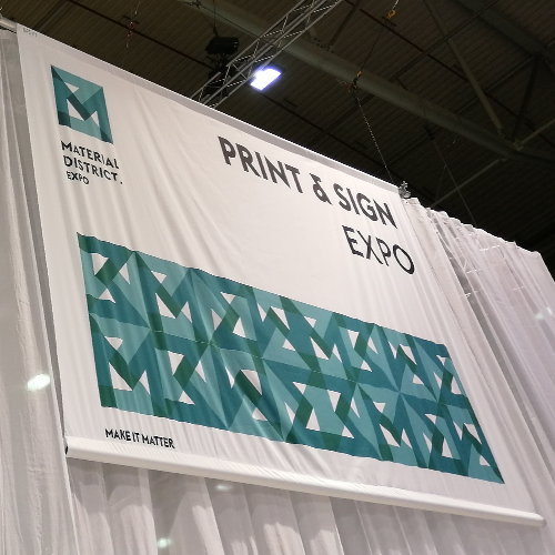Blomsma Print & Sign Material District 2019 Rotterdam Ahoy