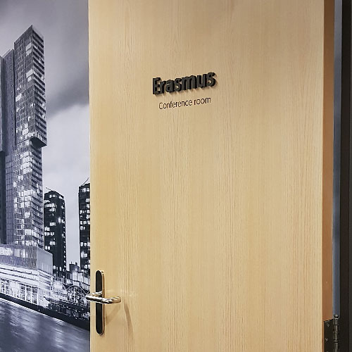 Eriks Blomsma Print & Sign naambordjes bewegwijzering