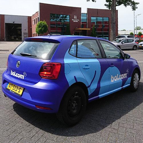 fullwrap Bol.com Blomsma Print & Sign huisstijl rebranding 3M folie