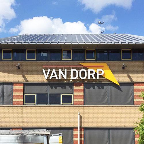 Van Dorp Blomsma Print & Sign Deventer Gevelreclame