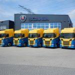 Wemmers Scania Vrachtwagenbestickering Blomsma Print & Sign