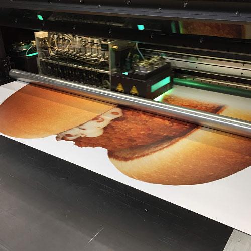 McKroket blow-up billboardwagen Blomsma Print & Sign
