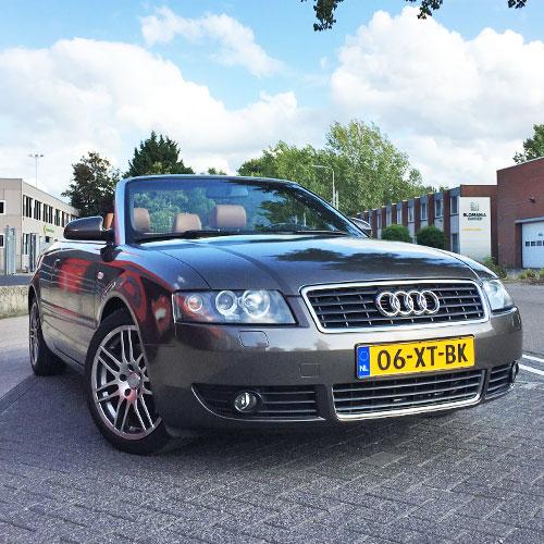 full-wrap carwrap autobestickering Blomsma Print & sign Audi A4