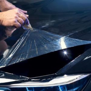autobestickering car wrap 3M blomsma Print & Sign