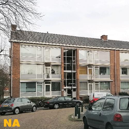 Gevelrenovatie met folie in Rijswijk - na oplevering   Blomsma Print & Sign