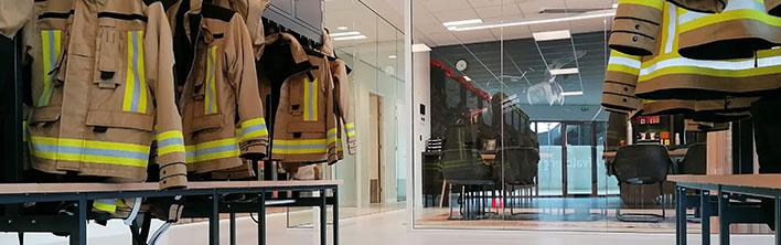 Header Interieurdecoratie Brandweerkazerne Papendrecht door Blomsma Print & Sign