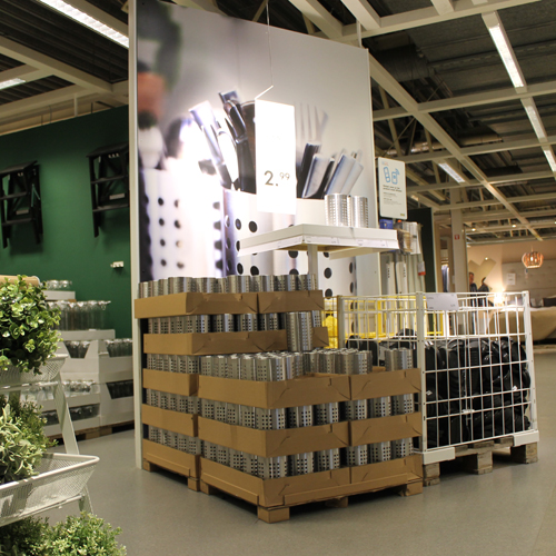 instore visuele communicatie ikea