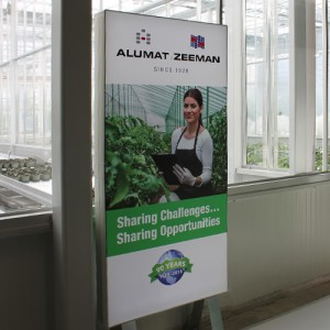 Alumat Zeeman permanent in World Horti Center Naaldwijk Blomsma PrintMedia